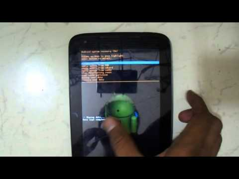 Lenovo Idea Tab A1000 Pattern Reset And Hard Reset Eazy Youtube