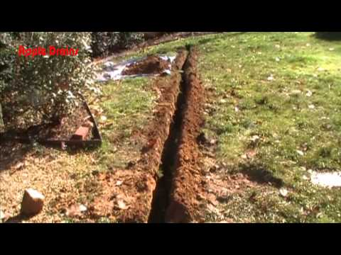 Wet Yard Solutions - The French Drain