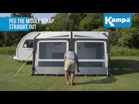 Kampa  Rally AIR Pro  Setup  Takedown Masterclass 2018