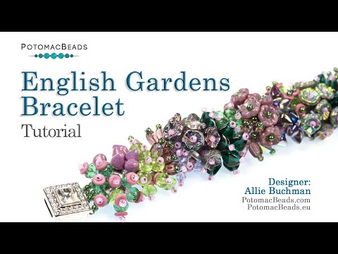 English Gardens Bracelet (Tutorial)