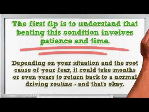 Getting Over Fear of Driving | 3 Step Tips to Overcome Your Phobia