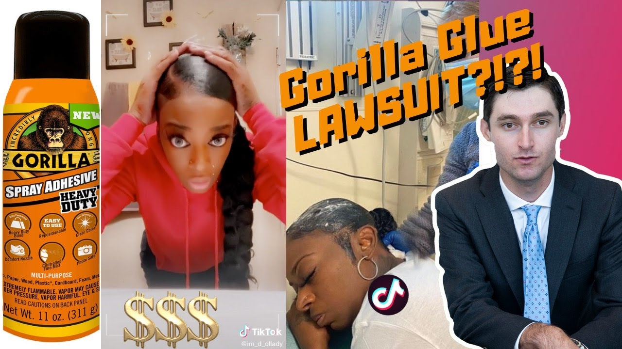 REAL LAWYER EXPLAINS GORILLA GLUE LAWSUIT? | $$$$