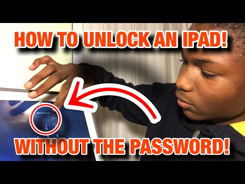 How to unlock an iPad Without the password (2)