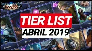 Meta Tier List Mobile Legends