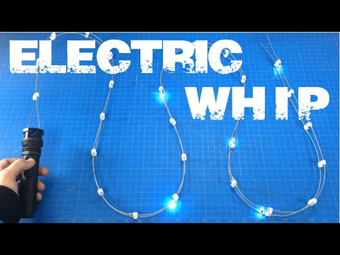 Pacific Rim 2 Electric Whip 6 MILLION VOLT! / Whiplash (Ironman 2) Stun Whip