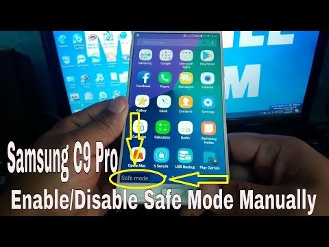 Samsung C9 PRO How To Enable/Disable Safe Mode Manually