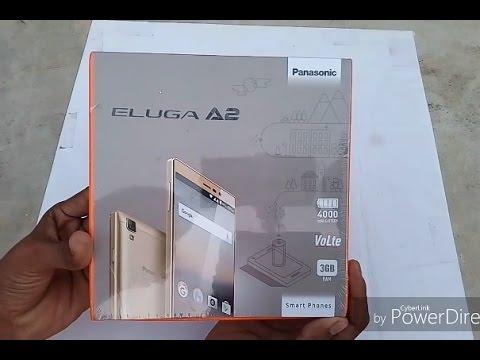 [ Hindi - हिन्दी ] Panasonic Eluga A2 Review & Unboxing