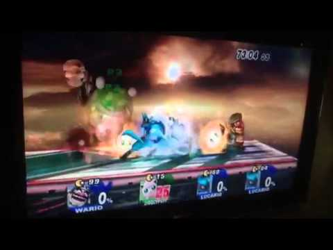 Super smash bros brawl how to do the black hole glitich