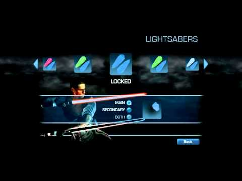 Star Wars The Force Unleashed 2 Saber Color * Glitch *