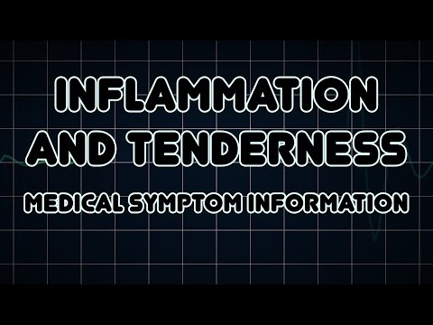 Inflammation and Tenderness (Medical Symptom)