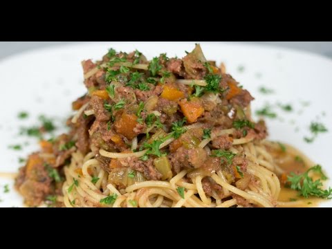 Pasta Bolognese with Corned Beef [牛肉意面]