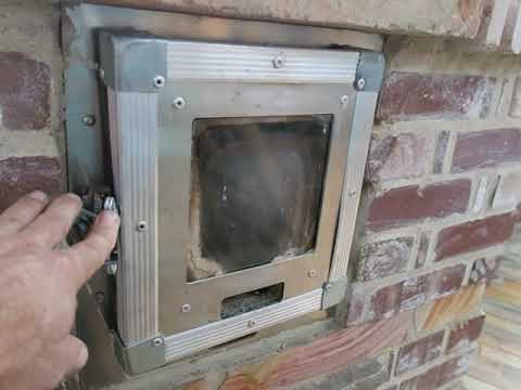 Building Stove Doors, Dampers, and Hardware