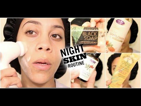 My Night Time Skincare Routine | JasminRemedies