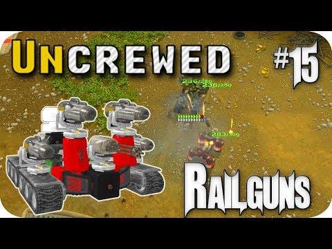 Uncrewed #15 The Code, All New Railgun Weapons