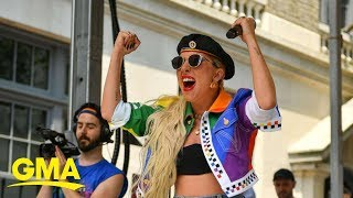 Lady Gaga to LGBTQ community: 'I would take a bullet for you'