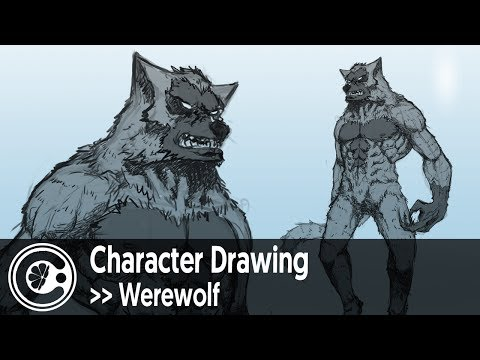 Character Drawing: Werewolf