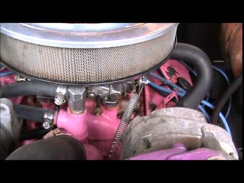 FUEL INJECTED PINK BIG BLOCK , WHAT WE HAVE TO FIGURE OUT !!!!
