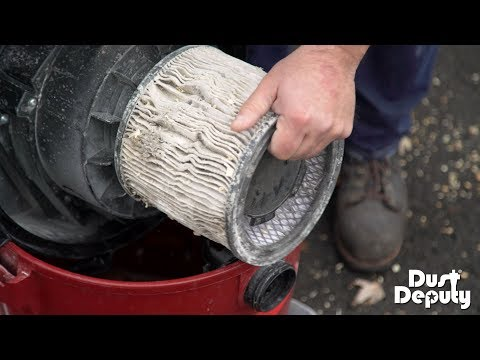 Eliminate Clogged Vacuum Filters with the Dust Deputy