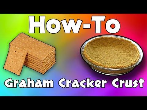 Graham Cracker Pie Crust || Nana's Cookery