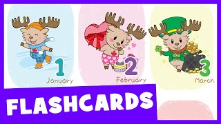 Learn Months of the Year | Talking Flashcards