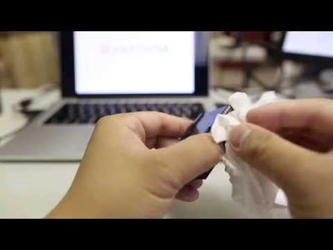 How to unclog printhead of ink cartridge using running tap water method