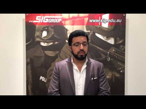 Security Courses Perth - Certificate II in Security Operations -- SIG GROUP Perth, Australia