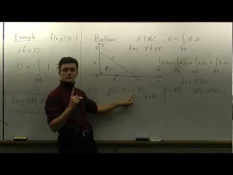 Lecture 2012.04.17 Part 08/8 Triangular Balloon and Pythagorean Theorem
