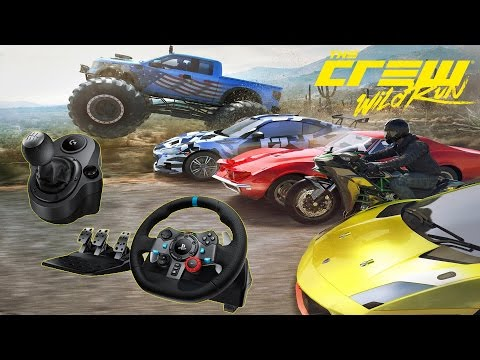 The Crew: Wild Run Logitech G29 Wheel Settings / Setup Guide