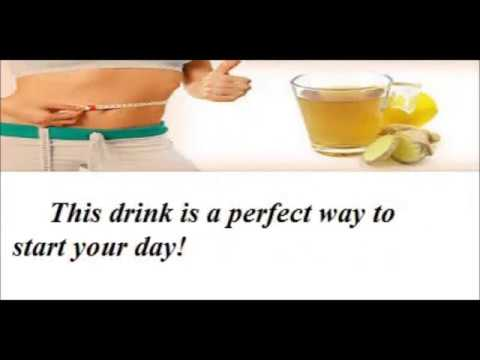Lose Weight Fast : Lemon and ginger Detox Water - Best Recipe to Lose Weight