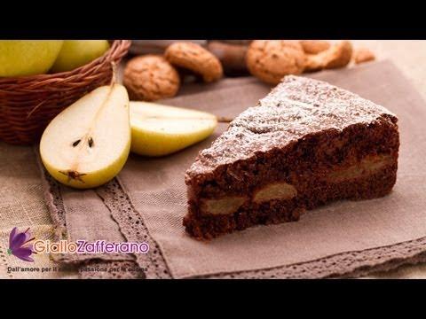 Pear and chocolate cake - recipe