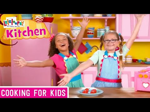 Lalaloopsy Kitchen: How to Make Strawberry Cake Bites | We're Lalaloopsy | Now Streaming on Netflix!