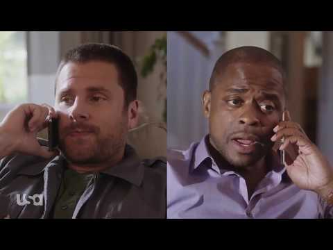 Psych: The Movie | Shawn and Gus getting in shape