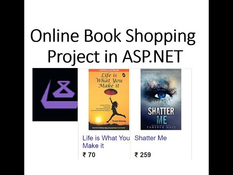 Online Book Shopping Project in ASP.NET