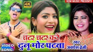 || चटर चटर करे दुनो मोर पटवा || Chatar Chatar Kare Duno Mor Patwa|| अवधेश प्रेमी का फाड़ू वीडियो