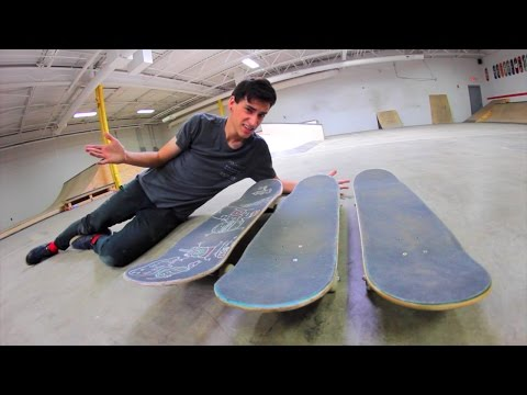HOW TO PICK THE RIGHT SKATEBOARD SIZE!