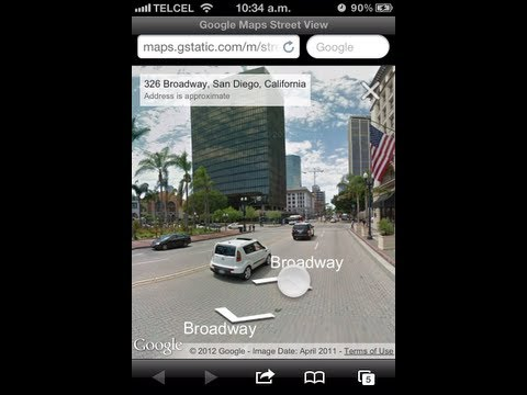 Get IPhone 5 GOOGLE MAPS & STREET VIEW on iOS 6 without jailbreak