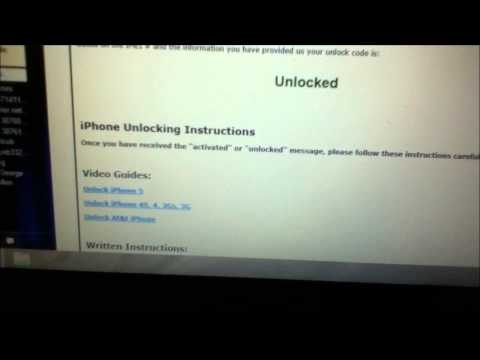 How to Unlock Your iPhone 4s from Rogers by Unlock Code from Cellunlocker.net