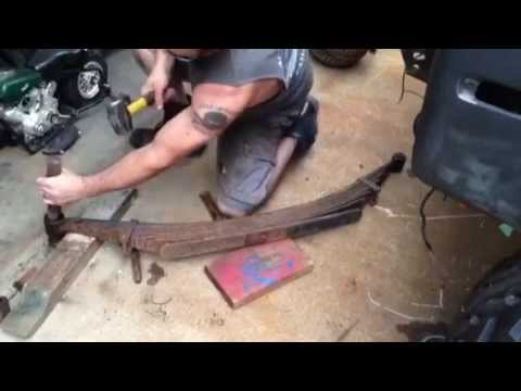 LEAF SPRING BUSHING REMOVAL - HOW TO