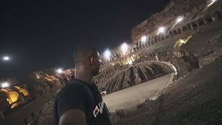 Sneaking Into the Colosseum (Rome)
