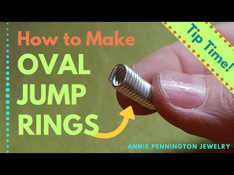 Tip Time: How to Make Oval Jump Rings