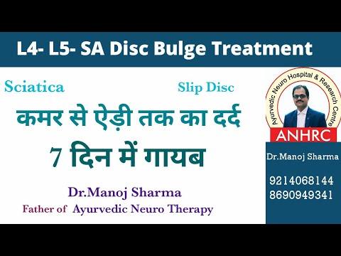 L4-L5,L5-S1 disc bulge treatment