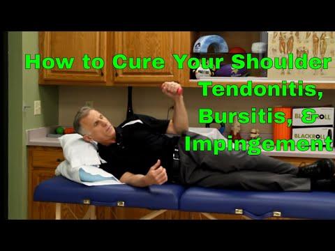 How To Cure Your Shoulder (Tendonitis, Bursitis, & Impingement)