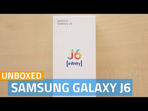 Samsung Galaxy J6 Unboxing and First Look | Price in India, Specifications, and More