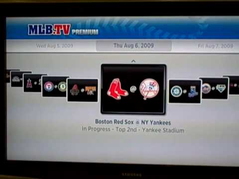 Roku MLB.TV Video Demo