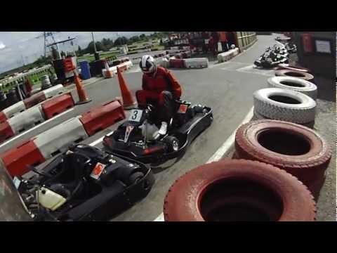Lakeside Pro Karting in Dartford Kent UK with Contour HD Roam Camera #2