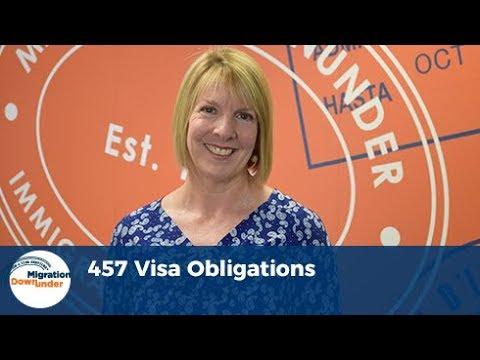 457 Visa Obligations