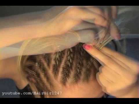 How To Cornrow Your Own Hair!
