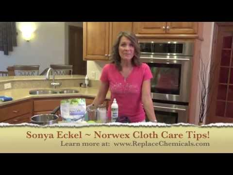 Norwex Cloth Care Tips