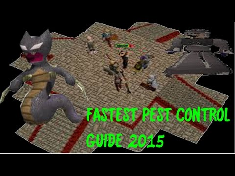 Old School Fastest Pest Control Guide (Void knight armour)