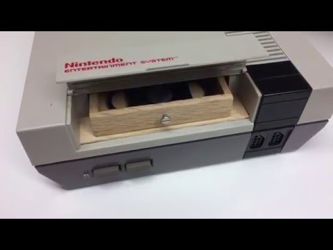 The NINTENDOR! Nintendo Cigar Humidor NES DIY